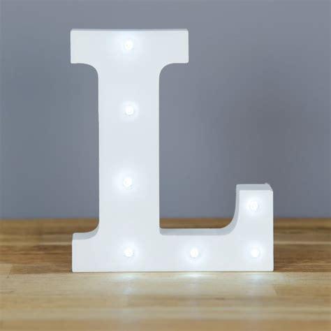 Light L For by Light Up Letter L Home Decor Barbours
