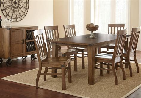 antique oak dining room sets hailee antique oak extendable rectangular dining room set