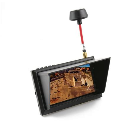 Monitor Fpv 4 3 Quot Lm403 Lcd Fpv Monitor With 5 8ghz 32ch Raceband Receiver