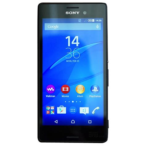 Sony Xperia M4 Aqua sony xperia m4 aqua dual sim black available at shopclues for rs 17500