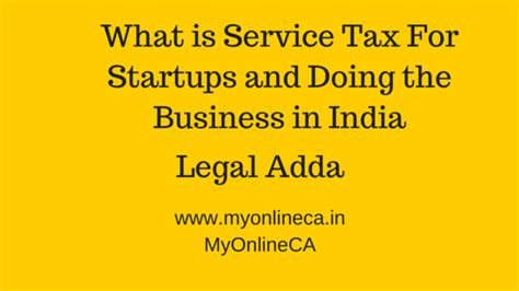 service in registration what is service tax registration in india