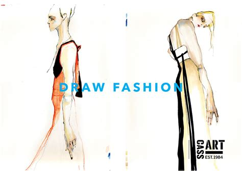 fashion illustration competitions lcf and cass come together to draw fashion