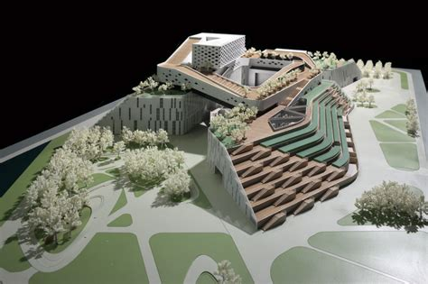 Office Design Planning Area caofeidian culture center urbanus