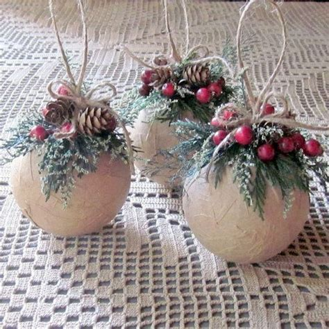 natural rustic christmas decorations 30 diy rustic