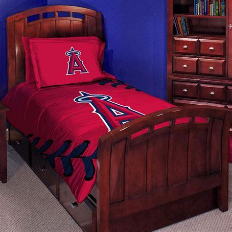 baseball bedding twin los angeles angels mlb twin comforter set 63 quot x 86 quot