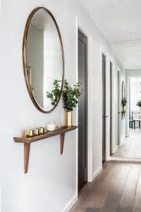 Entry shelf and mirror pinpoint