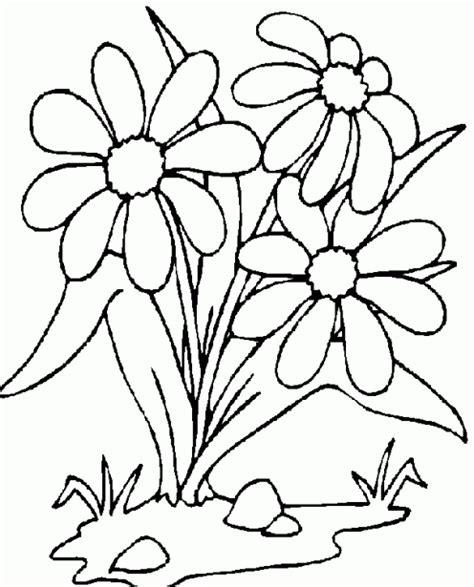 imagenes de flores animadas para colorear dibujos de flores para colorear dibujos para ni 241 os