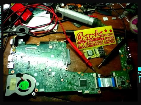 Bor Pakai Batre charvale servizio laptop smartphone service analisa