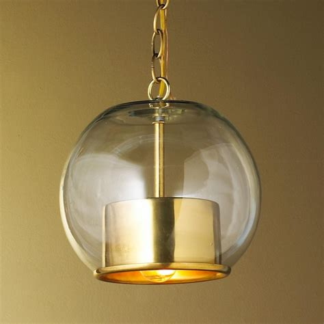 brass globe pendant light brass cap and globe pendant pendant lighting by shades