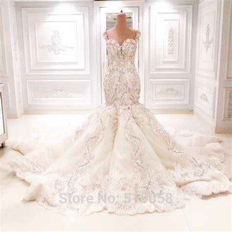 Mermaid Blingbling Size S Dan M fully beaded sweetheart open back mermaid wedding dresses bling bling bridal gowns 2016