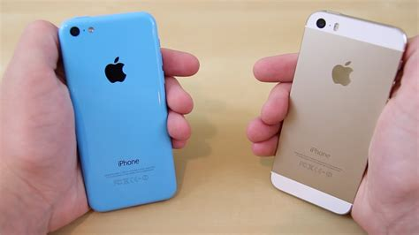 iphone 5s vs iphone 5c comparison