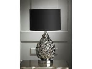 Black And Silver Table L Chrome Table L