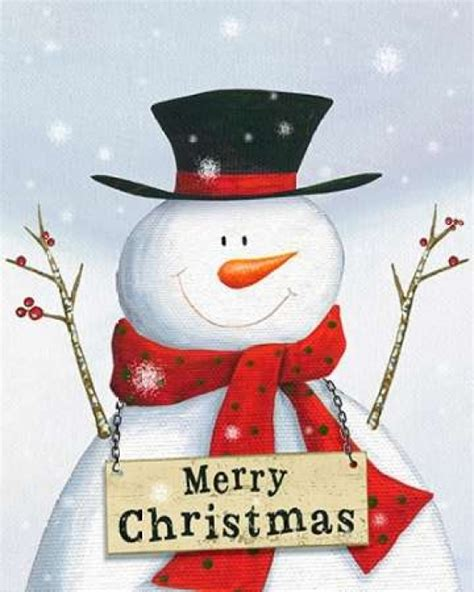 merry christmas snowman poster print  ps art studios walmartcom