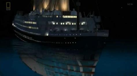 Titanic Film Youtube Sinking | titanic sinking simulation youtube