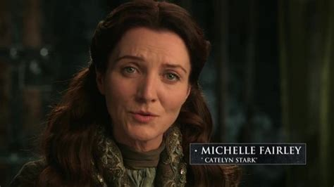 michelle fairley social media catelyn stark delivers awful news about game of thrones