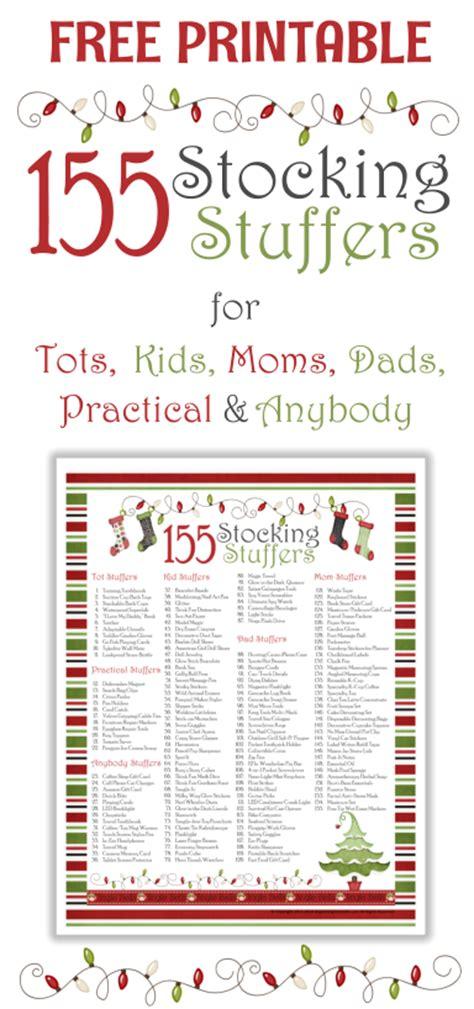 125 plus cheap stocking stuffer ideas organizing homelife