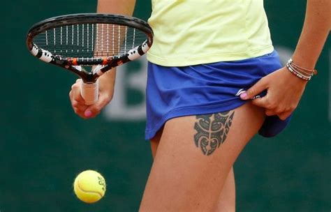 tattoos peak out at french open melfort journal