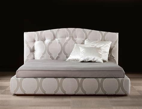 bed in italian nella vetrina gaia italian storage bed upholstered in