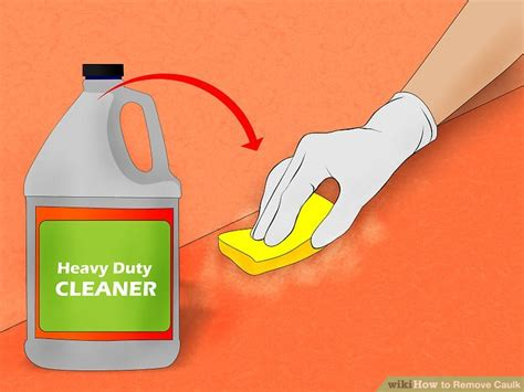 easy ways  remove caulk  pictures wikihow