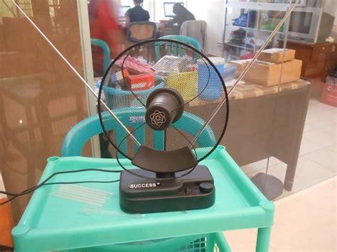 Tv Yg Bagus antena tv indoor dengan booster praktis jernih tinggal colok tokoonline88