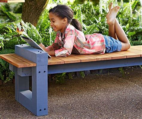 make outdoor bench 11 diy outdoor table and bench design diy to make