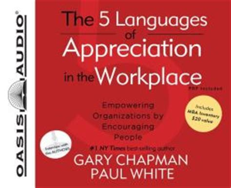 The 5 Languages Of Appreciation In The Workplace Mba Inventory by The 5 Languages Of Appreciation In The Workplace