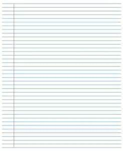 College Ruled Lined Paper Template by College Ruled College Ruled Riting Paper Templates
