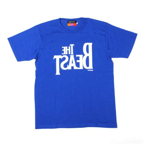 Tshirt Kaos Tokyo Royale Blue Dealldo Merch the beast t shirt royal blue x white tokyo otaku mode shop