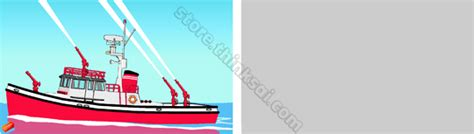 fire boat cartoon fire boat clipart clipground