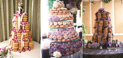 Donut Wedding Cake by Your Own Donut Wedding Cake Wedding In Poland