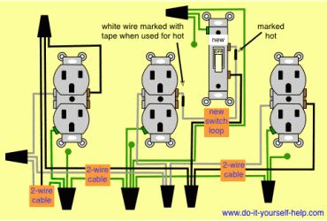 parallel wiring diagram wedocable