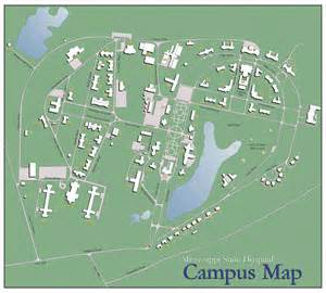 Mississippi State Campus Map by Msh Campus Map
