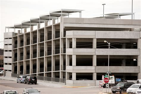 Garage Near Me Open Now Downtown Parking Garage Now Open To The Midland