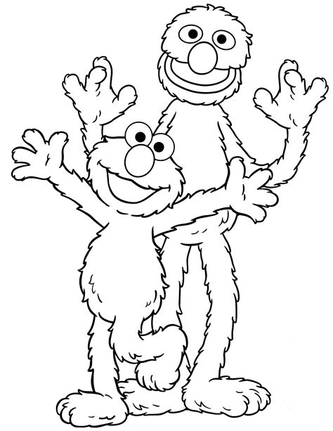 printable coloring pages sesame street sesame street coloring pages bert free printable coloring