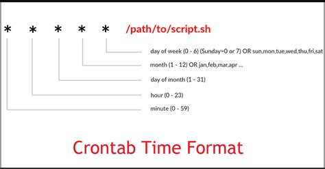 format html linux linux basics 20 useful crontab exles in linux