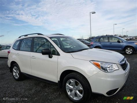 subaru forester 2016 white 2016 crystal white pearl subaru forester 2 5i 110550454