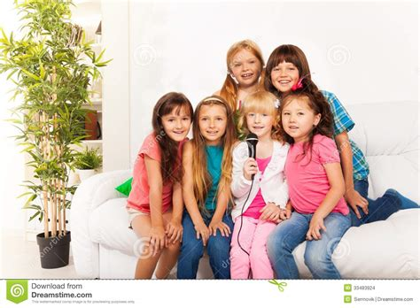 who sings in the boys room many singing stock photo image of casual five 33483924