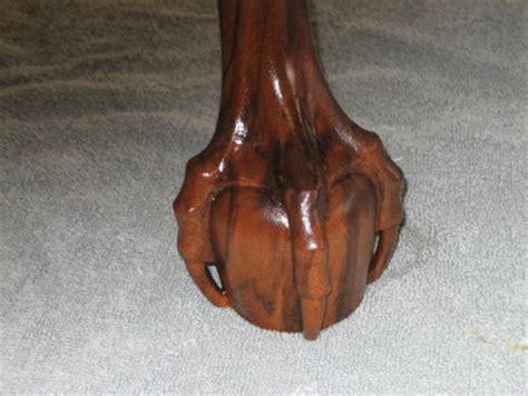 carving  ball  claw foot  john fry  lumberjocks