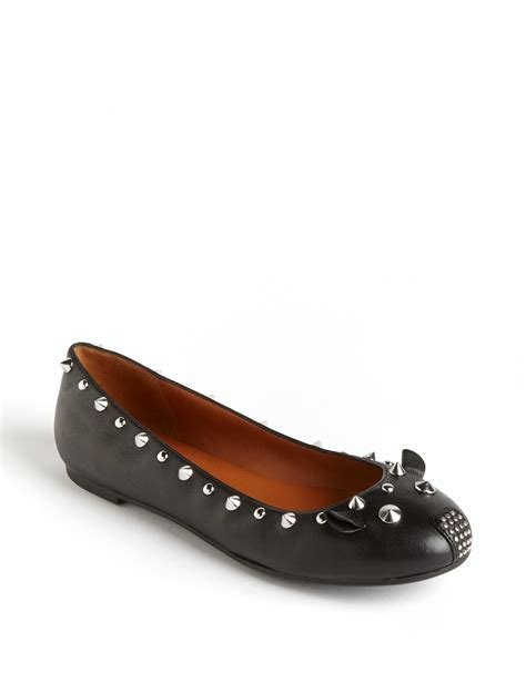 marc flat shoes marc by marc studded leather mouse ballet flats in