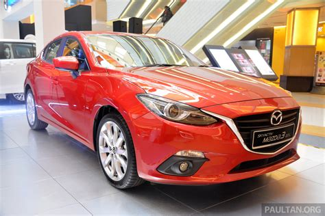 mazda 3 leather seats malaysia mazda 3 now with leather seats for no charge paul