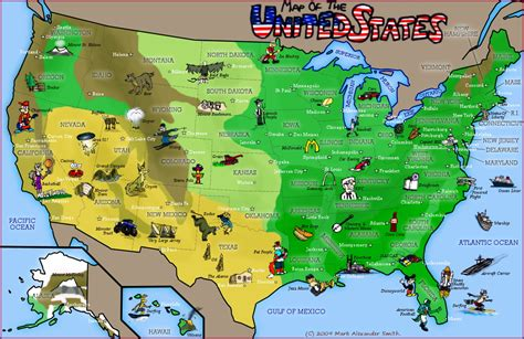 maps of the united states for canada usa map