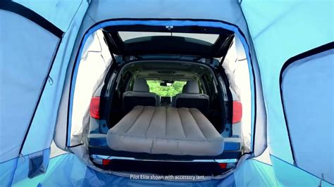 toyota highlander tent 2016 honda pilot goes gling how to lose the sleeping