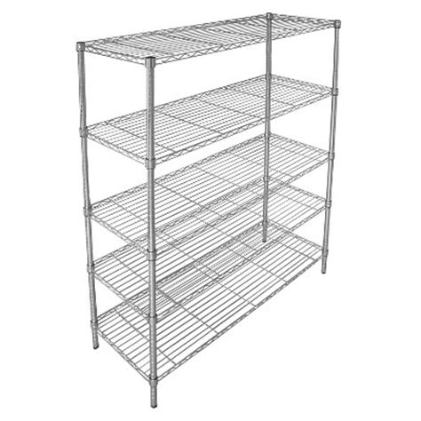 shelving at target adjustable 5 tier wide wire shelving unit chrome room essentials target inventory checker