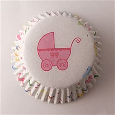 Baby Shower Cupcake Cases by Muffin Cases For Cupcakes In Baby Shower Design