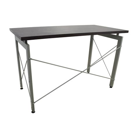 modern metal desk 39 all modern all modern wood and metal desk tables