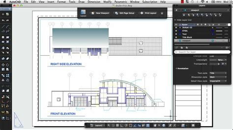 autocad layout use print a drawing layout autocad 2013 for mac youtube