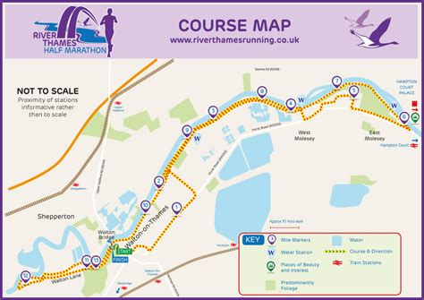thames river location on map river thames running river thames half marathon course map