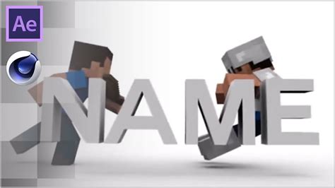animated intro templates free minecraft animated intro template after effects