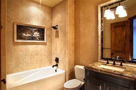 Bathroom Renovation Ideas Pictures by Guest Bathroom Bergamo Interiors Llc