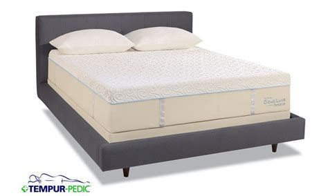 tempur pedic mattresses frames groupon goods